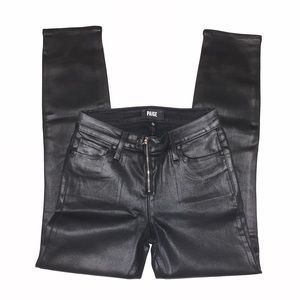 Paige coated jeans new